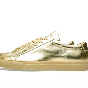 Women's Common Projects gold achilles sneakers